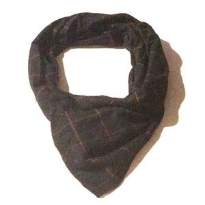 Accessories - Black and Red Plaid Blanket Scarf, Wrap, Shawl